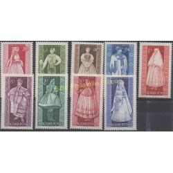 Hongrie - 1963 - No 1579/1587 - Costumes uniformes