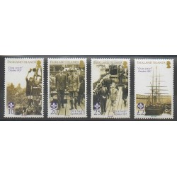Falkland - 2007 - No 980/983 - Scoutisme