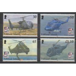 Falkland - 2009 - No 1030/1033 - Hélicoptères
