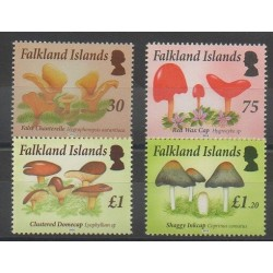 Falkland - 2014 - No 1173/1176 - Champignons