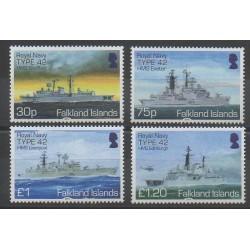 Falkland - 2014 - No 1189/1192 - Navigation