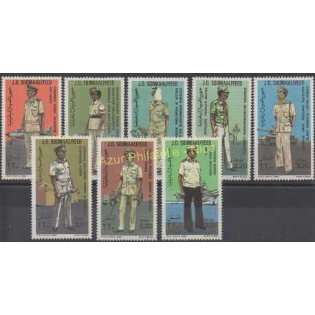 Somalia - 1983 - Nb 293/300 - Military history