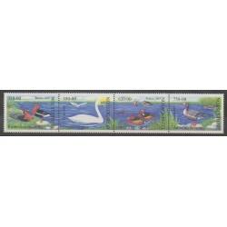 Ouzbékistan - 2009 - No 716/719 - Oiseaux