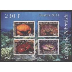 Polynésie - Blocs et feuillets - 2011 - No BF37 - Animaux marins