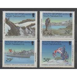 Falkland-Géorgie du Sud et Sandwich du Sud - 1989 - No 196/199 - Polaire
