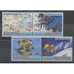 Falkland-Géorgie du Sud et Sandwich du Sud - 2007 - No 424/427 - Sciences et Techniques