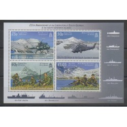 Falkland - 2007 - Nb 428/431 - Helicopters - Various Historics Themes