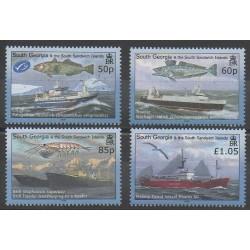 Falkland-Géorgie du Sud et Sandwich du Sud - 2008 - No 441/444 - Navigation