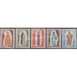 Mauritanie - 1970 - No 286/290 - Costumes uniformes