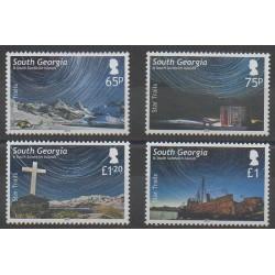 Falkland-Géorgie du Sud et Sandwich du Sud - 2013 - No 570/573 - Astronomie