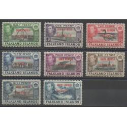 Falkland - 1944 - Nb 1/8