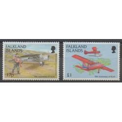 Falkland - 1998 - Nb 733/734 - Planes