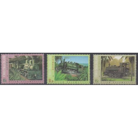 Christmas (Island) - 1994 - Nb 402/404 - Trains