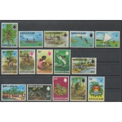 Kiribati - Gilbert et Ellice - 1971 - No 168/182