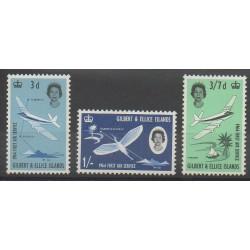 Kiribati - Gilbert et Ellice - 1964 - No 77/79 - Poste