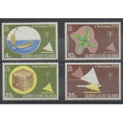 Kiribati - Gilbert et Ellice - 1974 - No 225/228 - Noël