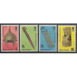 Kiribati - Gilbert - 1976 - No 37a/40a - Artisanat