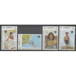 Kiribati - 1979 - No 21/24 - Enfance
