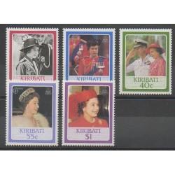 Kiribati - 1986 - No 149/153 - Royauté - Principauté