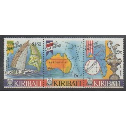 Kiribati - 1986 - Nb 163/165 - Boats - Various sports