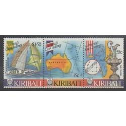 Kiribati - 1986 - No 163/165 - Navigation - Sports divers