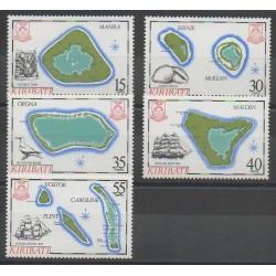 Kiribati - 1986 - Nb 154/158
