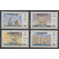 Kiribati - 1990 - Nb 234/237 - Boats