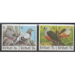 Kiribati - 1997 - No 405/408 - Oiseaux - Exposition