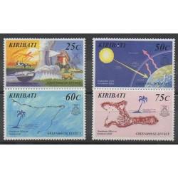 Kiribati - 1998 - No 422/425 - Environnement