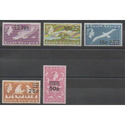 Falkland-Géorgie du Sud - 1971 - No 34/38
