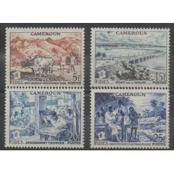 Cameroun - 1956 - No 300/303