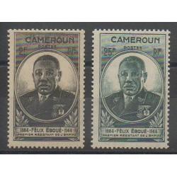 Cameroon - 1945 - Nb 274/275