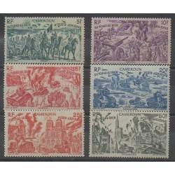 Cameroon - 1946 - Nb PA32/PA37