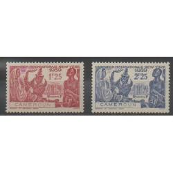 Cameroun - 1939 - No 160/161