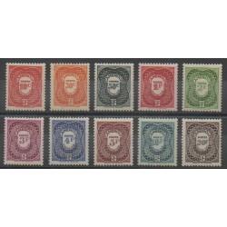 Cameroon - 1947 - Nb T25/T34