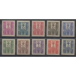 Cameroun - 1939 - No T14/T23 - Neuf avec charnière