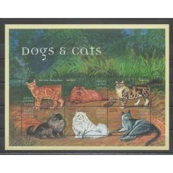 Sierra Leone - 2000 - Nb 3067/3072 - Cats