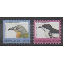 Sierra Leone - 1999 - No 2611/2612 - Oiseaux