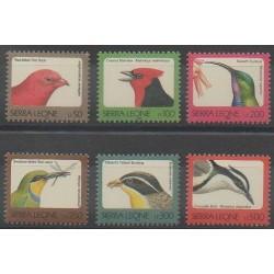 Sierra Leone - 1997 - No 2504A/2504F - Oiseaux