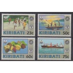 Kiribati - 1992 - No 266/269 - Santé ou Croix-Rouge
