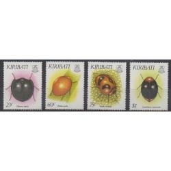 Kiribati - 1993 - No 278/281 - Insectes