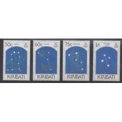 Kiribati - 1995 - No 345/348 - Horoscope - Astronomie