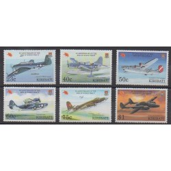 Kiribati - 1995 - Nb 359/364 - Second World War - Planes