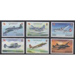 Kiribati - 1995 - No 359/364 - Seconde Guerre Mondiale - Aviation