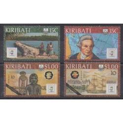 Kiribati - 1988 - Nb 185/188 - Boats - Exhibition