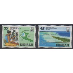 Kiribati - 1988 - Nb 189/190 - Telecommunications