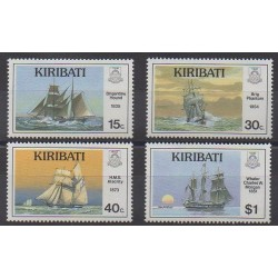 Kiribati - 1989 - Nb 191/194 - Boats