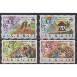 Kiribati - 1991 - Nb 249/252 - Christmas
