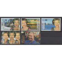 Kiribati - 1992 - Nb 253/257 - Royalty