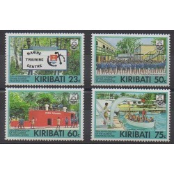 Kiribati - 1992 - Nb 262/265